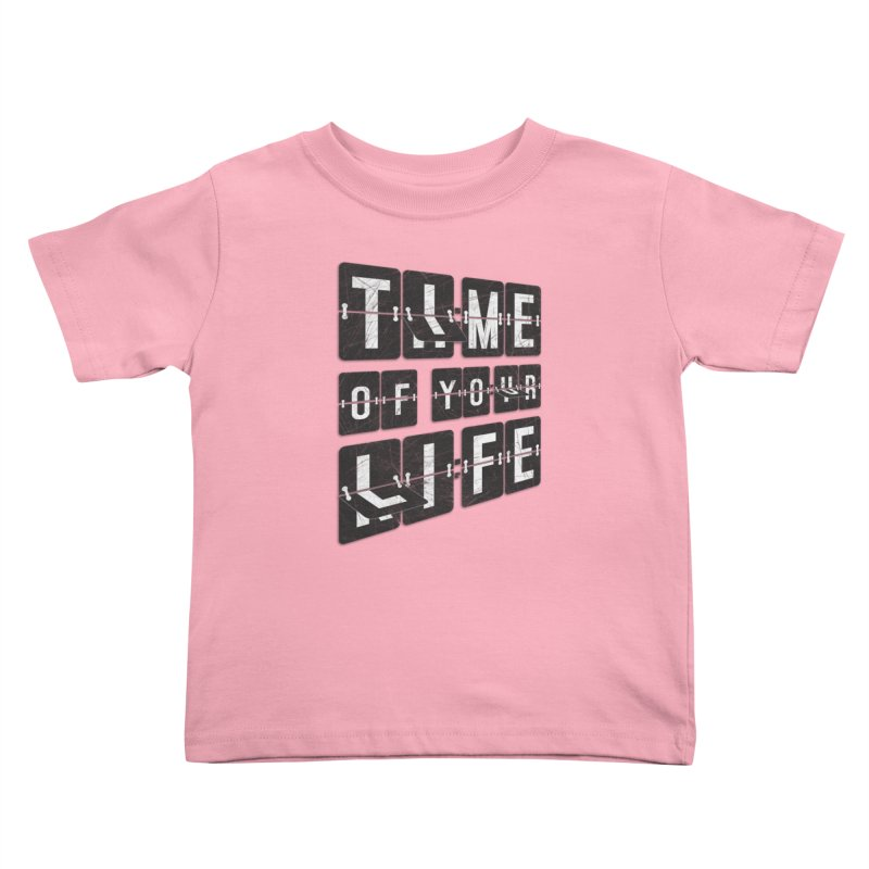 Time Kids Toddler T-Shirt by Dianne Delahunty's Artist Shop