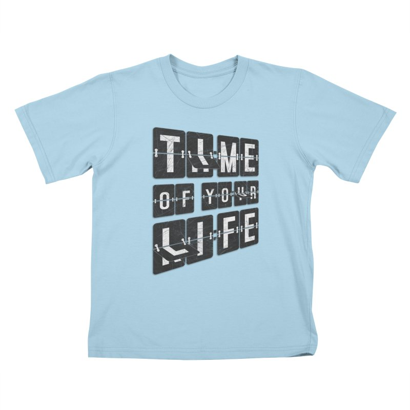 Time Kids T-Shirt by Dianne Delahunty's Artist Shop