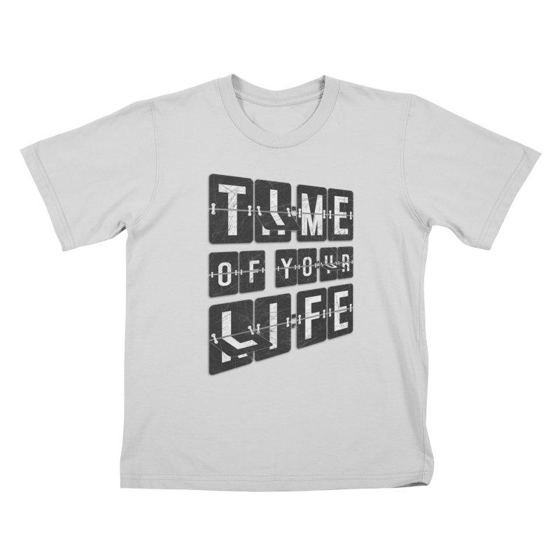 Time Kids T-Shirt by Dianne Delahunty's Artist Shop