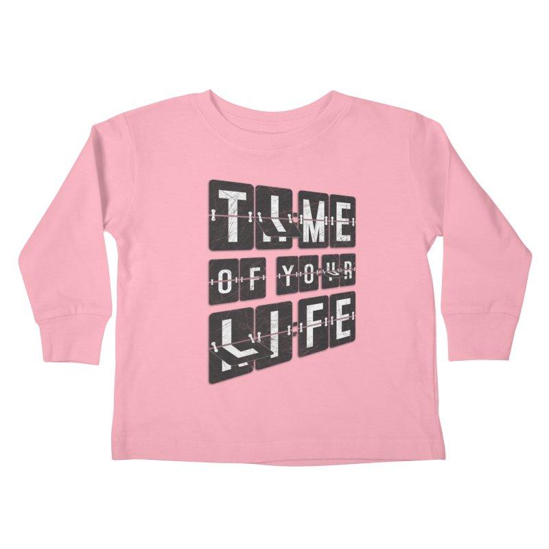 Time Kids Toddler Longsleeve T-Shirt by Dianne Delahunty's Artist Shop