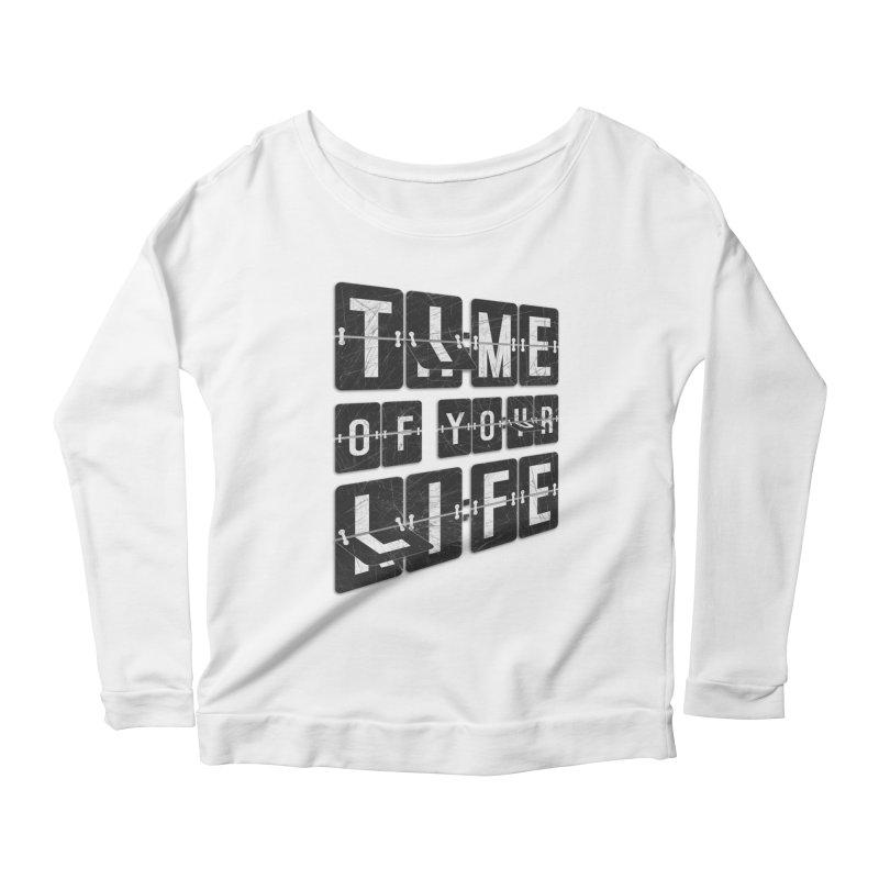 Time Women's Scoop Neck Longsleeve T-Shirt by Dianne Delahunty's Artist Shop