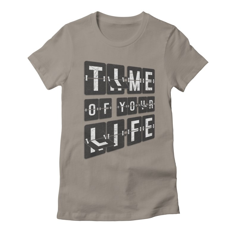 Time Women's Fitted T-Shirt by Dianne Delahunty's Artist Shop