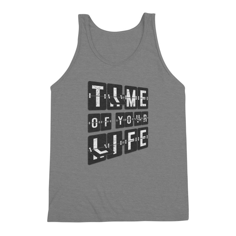 Time Men's Triblend Tank by Dianne Delahunty's Artist Shop