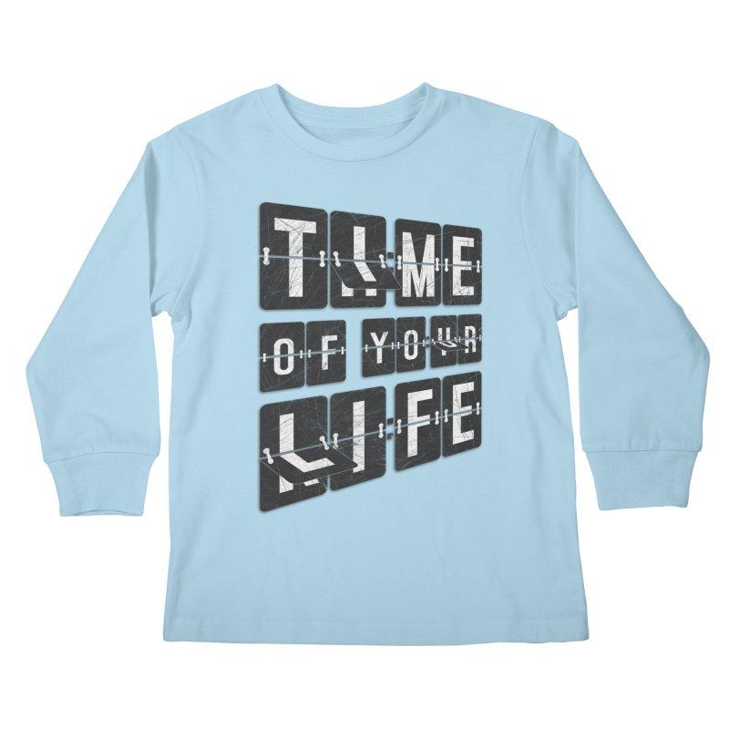 Time Kids Longsleeve T-Shirt by Dianne Delahunty's Artist Shop
