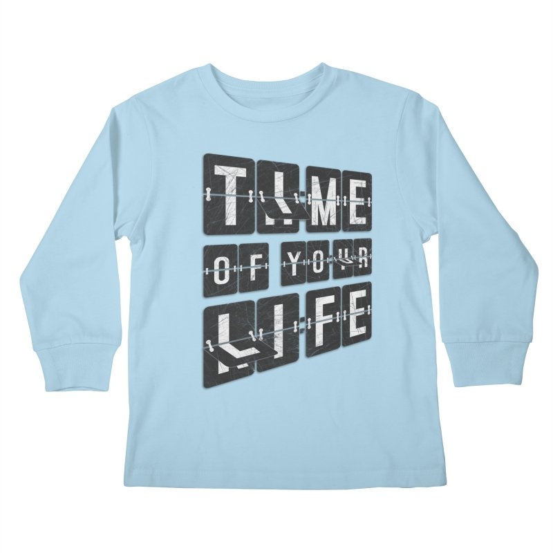 Time Kids Longsleeve T-Shirt by Dianne Delahunty's Artist Shop
