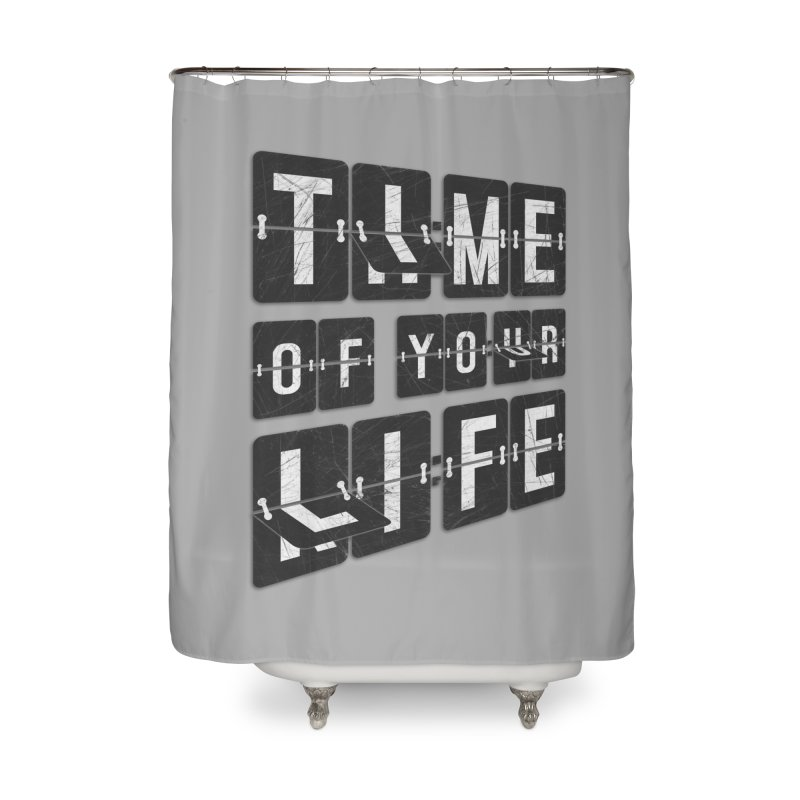 Time Home Shower Curtain by Dianne Delahunty's Artist Shop