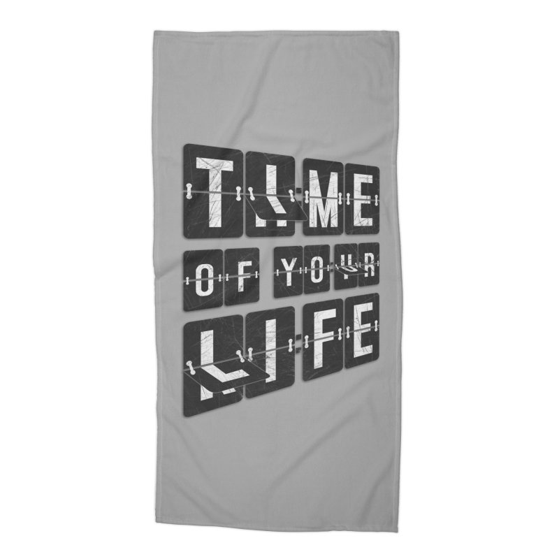 Time Accessories Beach Towel by Dianne Delahunty's Artist Shop