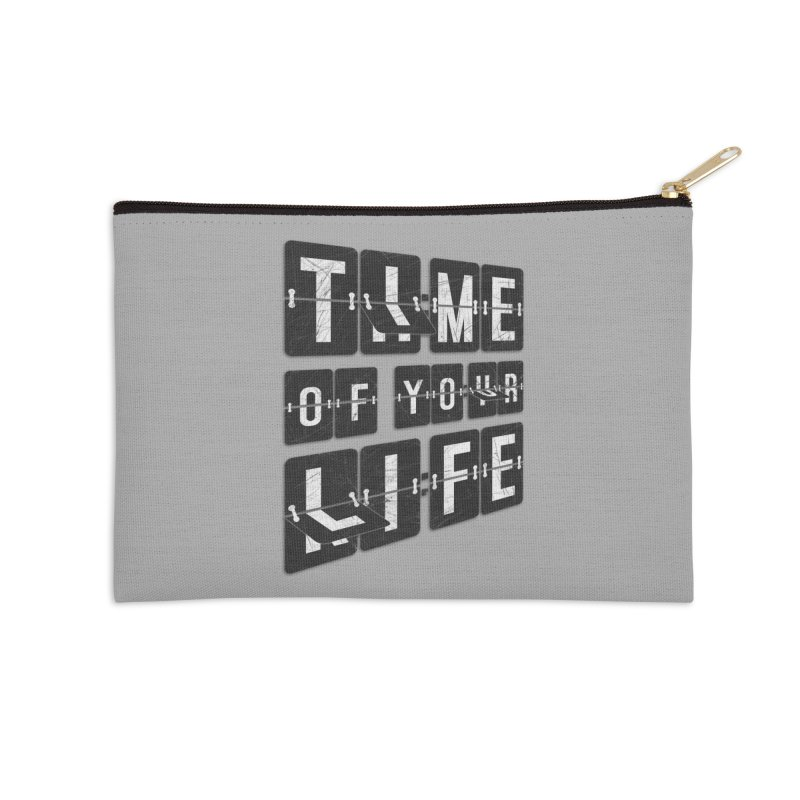 Time Accessories Zip Pouch by Dianne Delahunty's Artist Shop