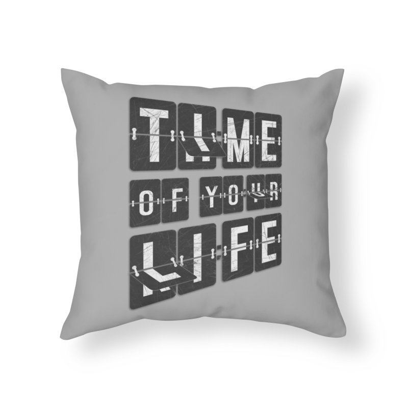 Time Home Throw Pillow by Dianne Delahunty's Artist Shop