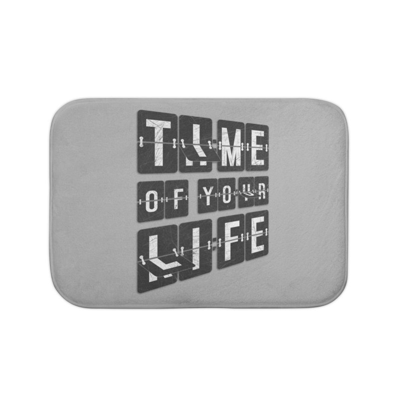 Time Home Bath Mat by Dianne Delahunty's Artist Shop