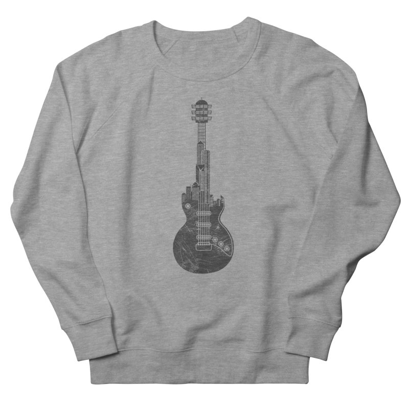 We Built This City Women's French Terry Sweatshirt by Dianne Delahunty's Artist Shop