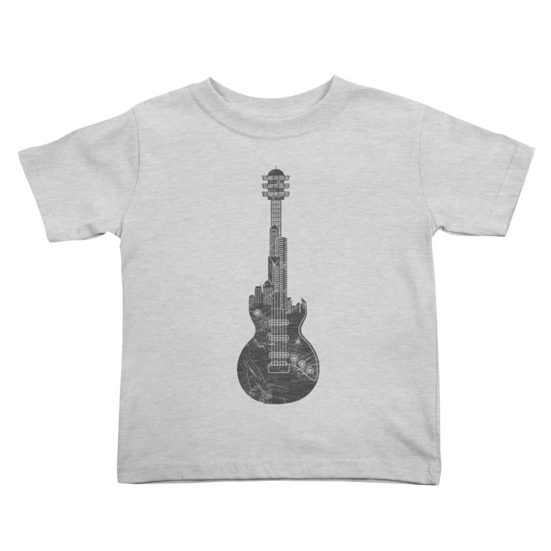 We Built This City Kids Toddler T-Shirt by Dianne Delahunty's Artist Shop