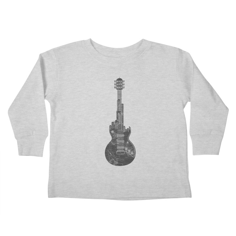 We Built This City Kids Toddler Longsleeve T-Shirt by Dianne Delahunty's Artist Shop