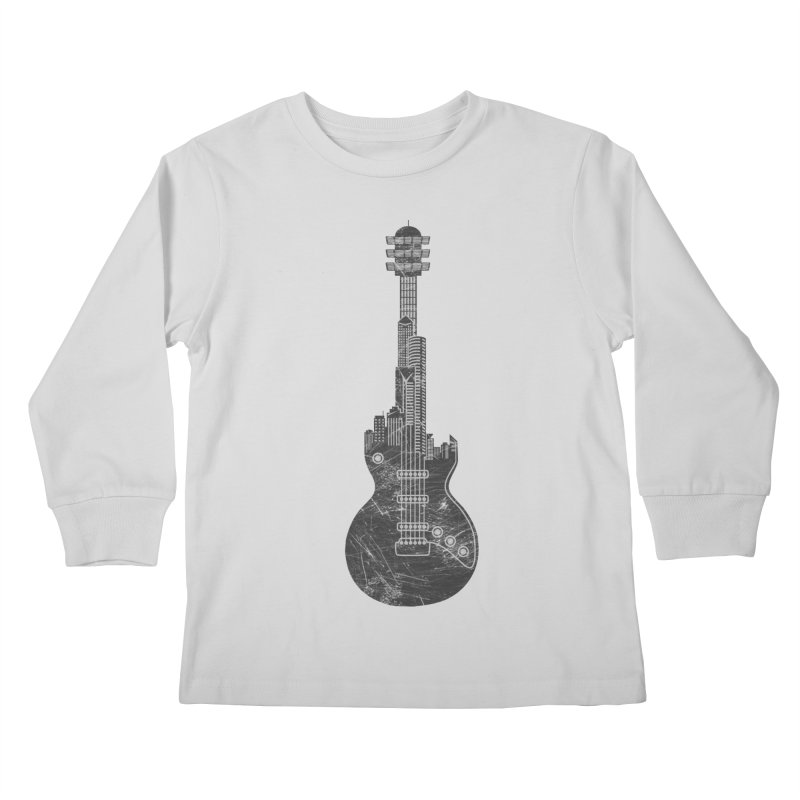 We Built This City Kids Longsleeve T-Shirt by Dianne Delahunty's Artist Shop