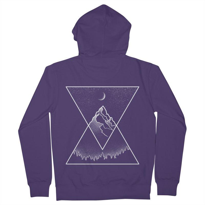 Pyramidal Peaks Women's Zip-Up Hoody by Dianne Delahunty's Artist Shop