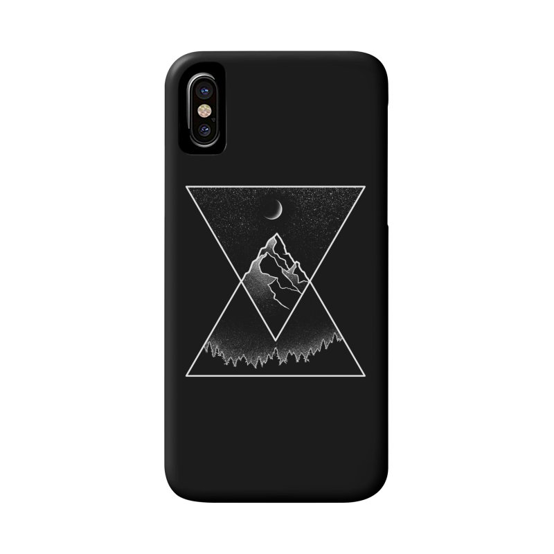 Pyramidal Peaks Accessories Phone Case by Dianne Delahunty's Artist Shop