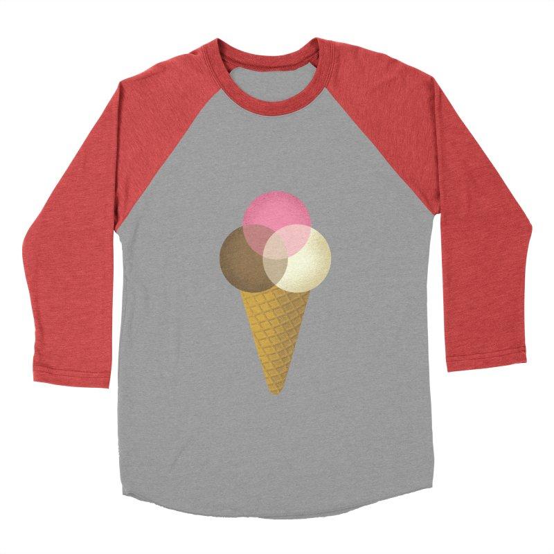 Ice Cream Venndor Men's Longsleeve T-Shirt by Dianne Delahunty's Artist Shop