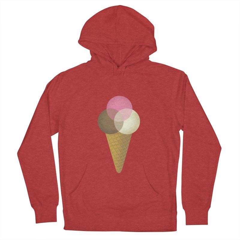 Ice Cream Venndor Men's Pullover Hoody by Dianne Delahunty's Artist Shop