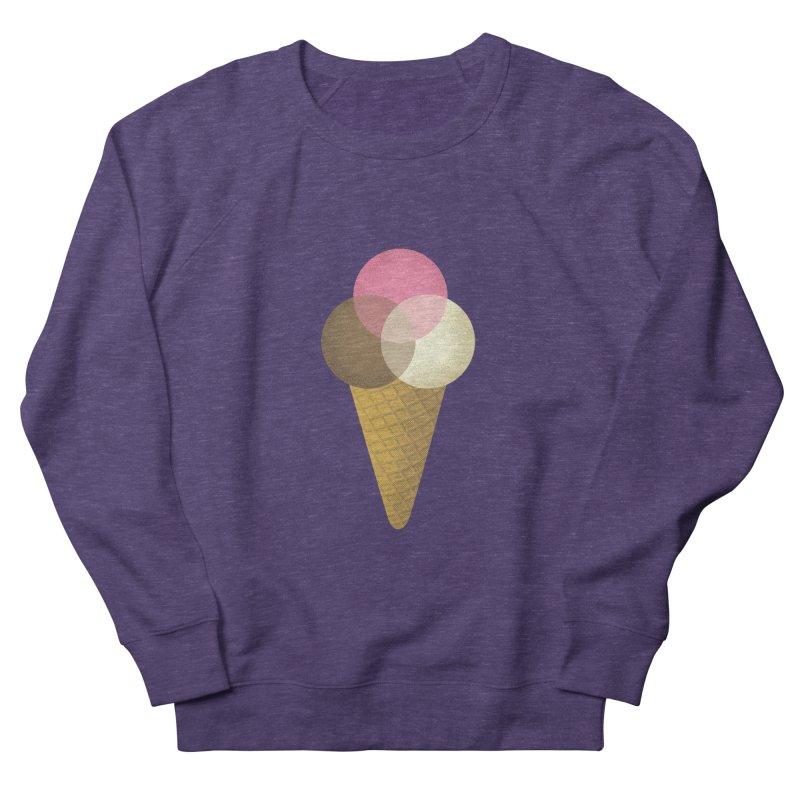 Ice Cream Venndor Women's Sweatshirt by Dianne Delahunty's Artist Shop
