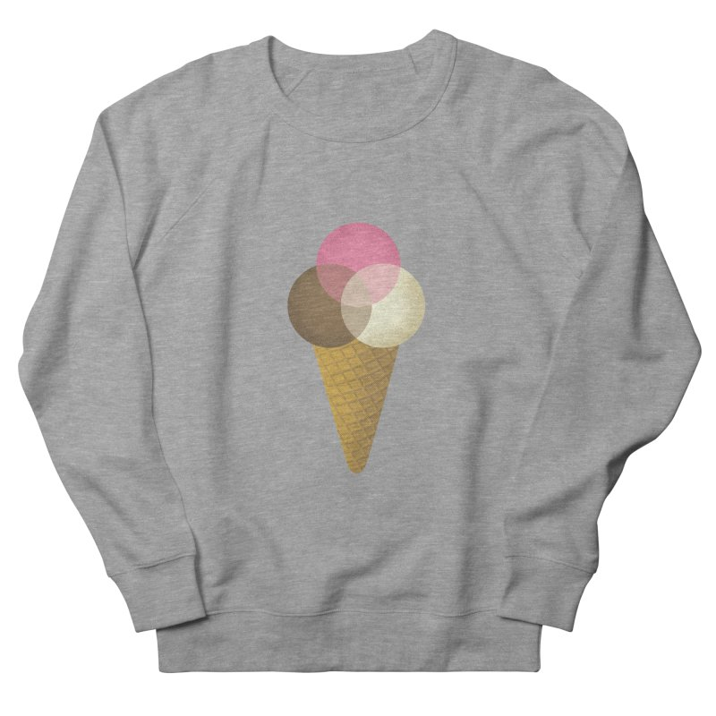 Ice Cream Venndor Men's Sweatshirt by Dianne Delahunty's Artist Shop