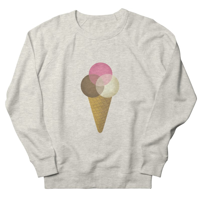 Ice Cream Venndor Men's Sweatshirt by Dianne Delahunty's Artist Shop