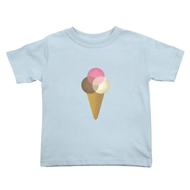 Ice Cream Venndor Kids Toddler T-Shirt by Dianne Delahunty's Artist Shop