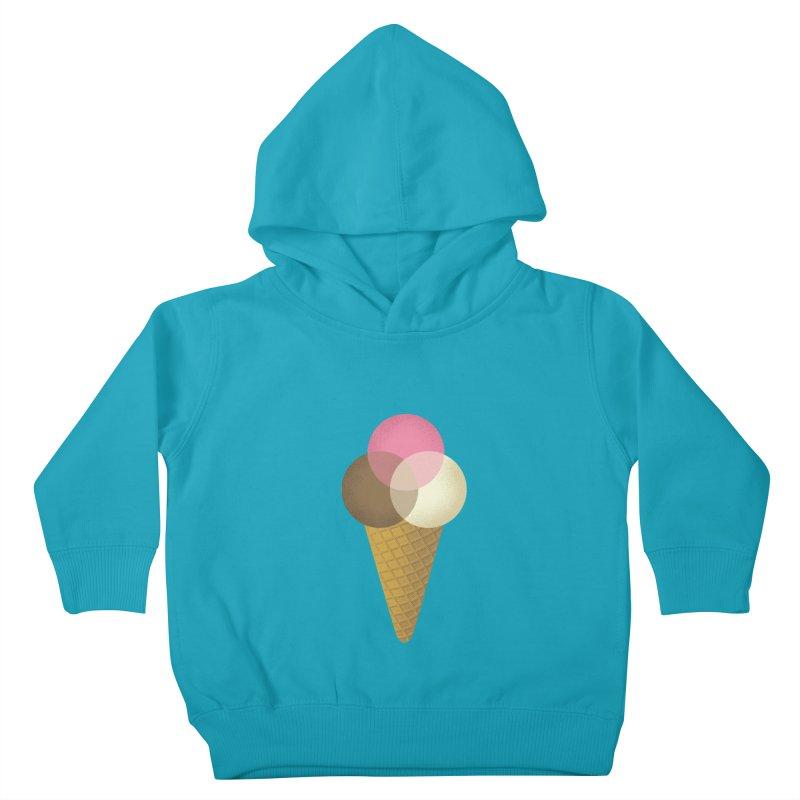 Ice Cream Venndor Kids Toddler Pullover Hoody by Dianne Delahunty's Artist Shop