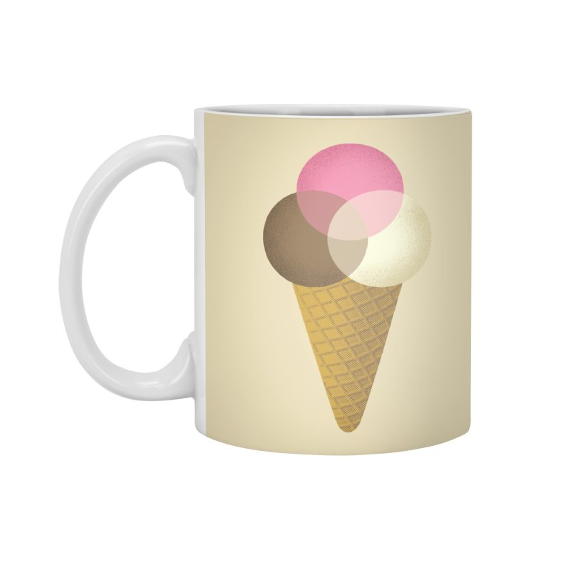 Ice Cream Venndor Accessories Mug by Dianne Delahunty's Artist Shop