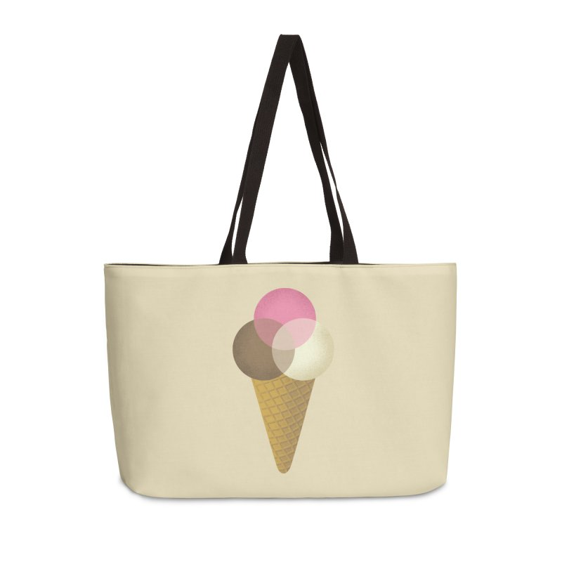 Ice Cream Venndor Accessories Weekender Bag Bag by Dianne Delahunty's Artist Shop
