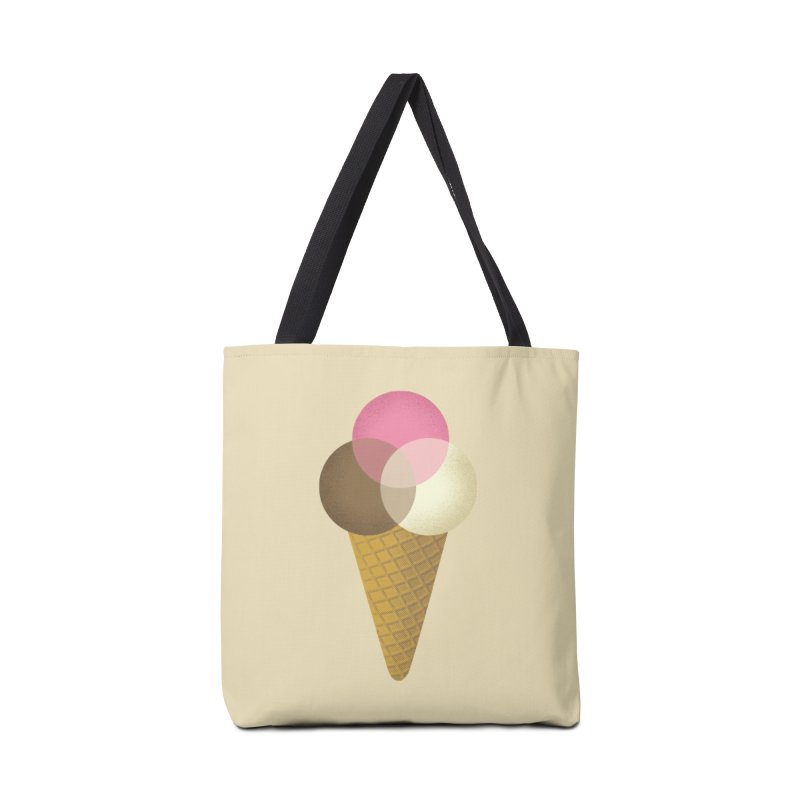 Ice Cream Venndor Accessories Tote Bag Bag by Dianne Delahunty's Artist Shop