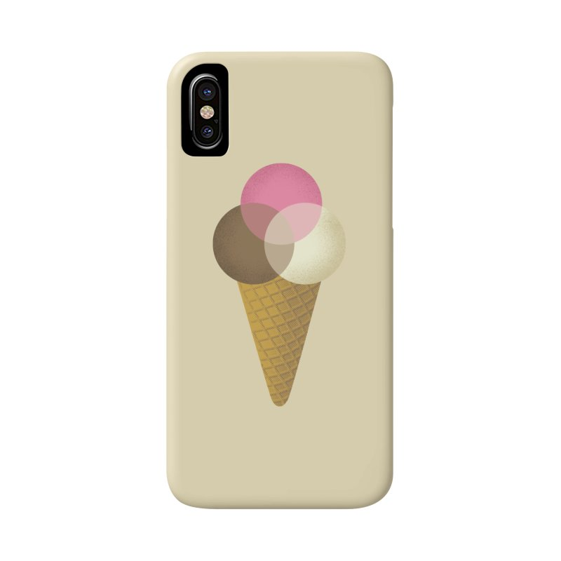 Ice Cream Venndor Accessories Phone Case by Dianne Delahunty's Artist Shop