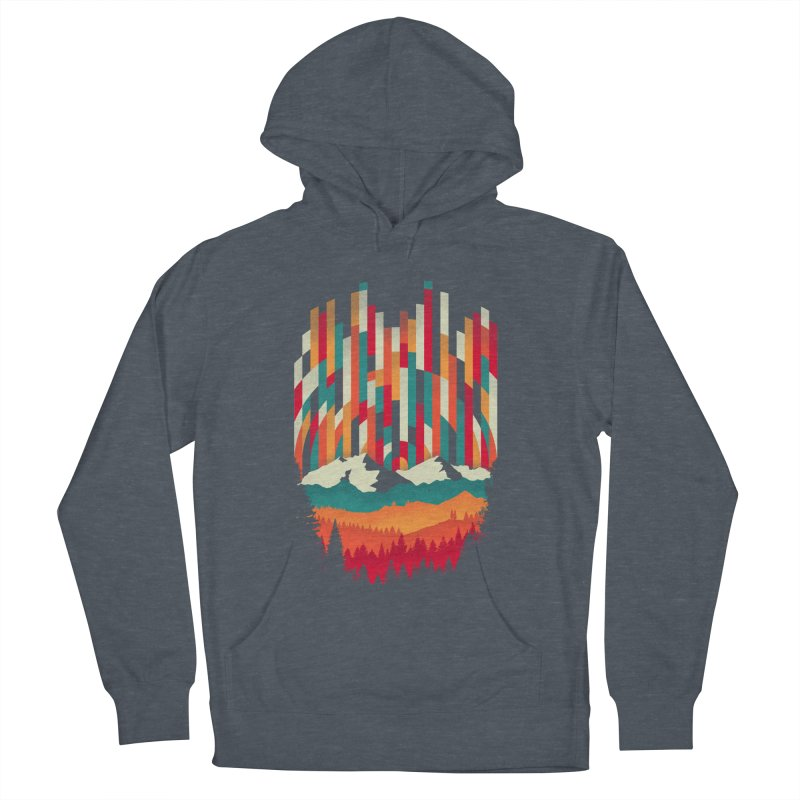 Sunset in Vertical - Multicolor Women's Pullover Hoody by Dianne Delahunty's Artist Shop