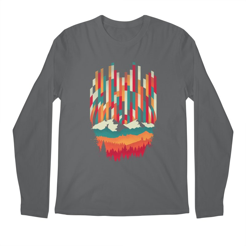 Sunset in Vertical - Multicolor Men's Longsleeve T-Shirt by Dianne Delahunty's Artist Shop