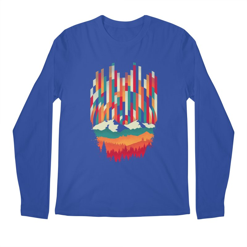 Sunset in Vertical - Multicolor Men's Regular Longsleeve T-Shirt by Dianne Delahunty's Artist Shop