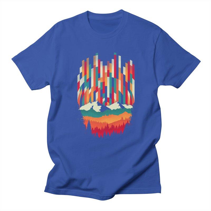 Sunset in Vertical - Multicolor Men's T-shirt by Dianne Delahunty's Artist Shop
