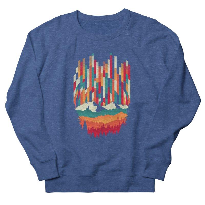 Sunset in Vertical - Multicolor Women's French Terry Sweatshirt by Dianne Delahunty's Artist Shop
