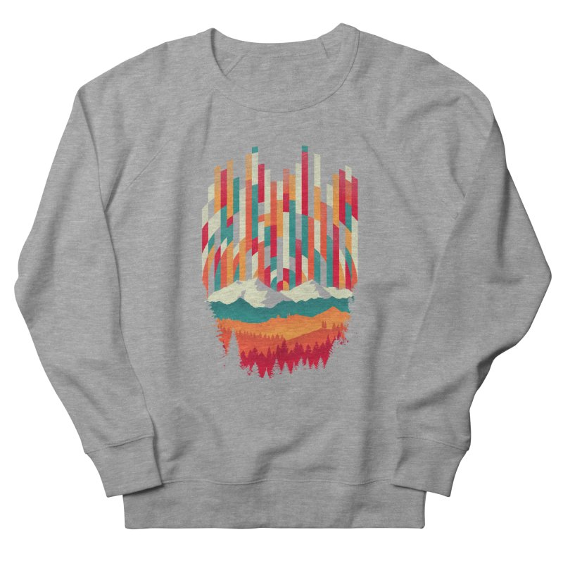 Sunset in Vertical - Multicolor Women's French Terry Sweatshirt by Dianne Delahunty's Artist Shop