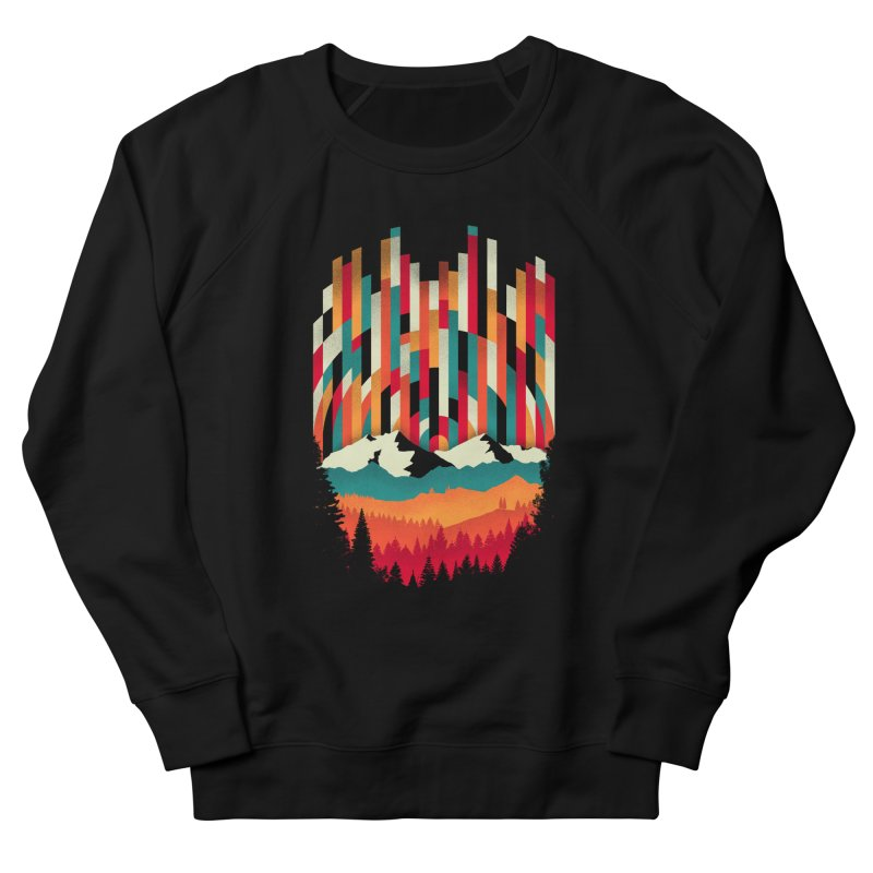 Sunset in Vertical - Multicolor Men's French Terry Sweatshirt by Dianne Delahunty's Artist Shop