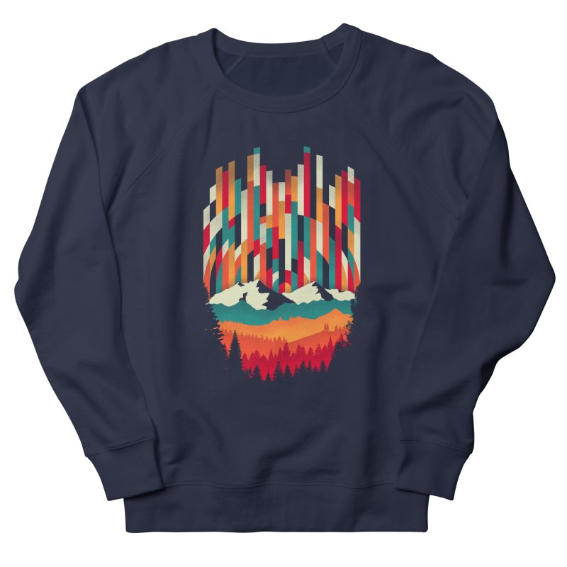 Sunset in Vertical - Multicolor Men's Sweatshirt by Dianne Delahunty's Artist Shop