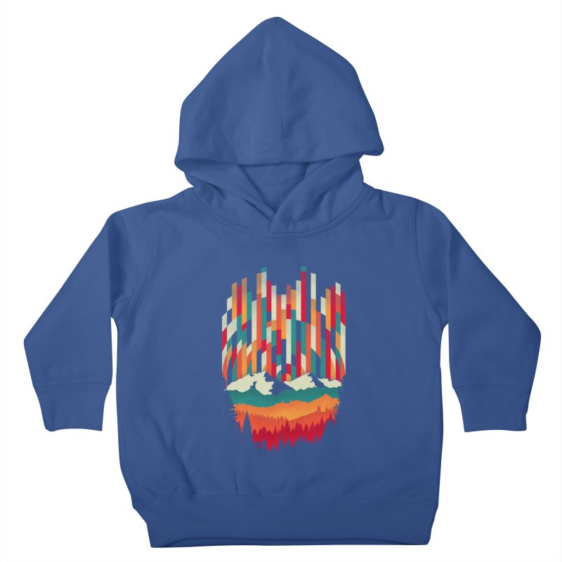 Sunset in Vertical - Multicolor Kids Toddler Pullover Hoody by Dianne Delahunty's Artist Shop