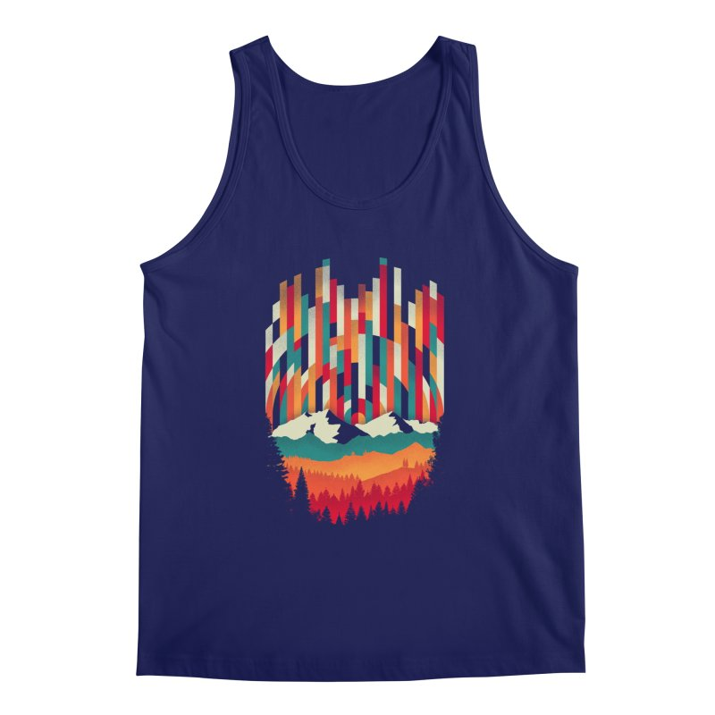 Sunset in Vertical - Multicolor Men's Regular Tank by Dianne Delahunty's Artist Shop