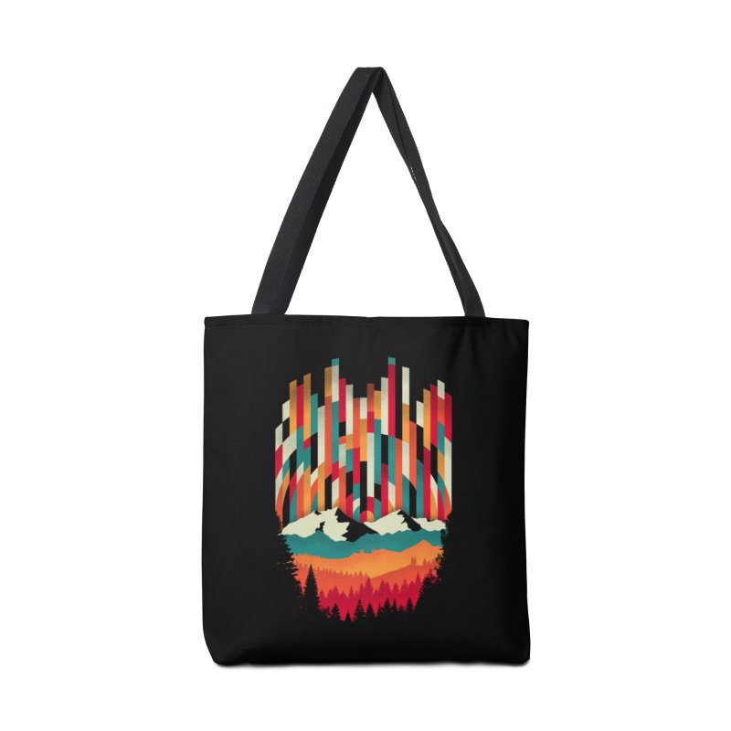 Sunset in Vertical - Multicolor Accessories Tote Bag Bag by Dianne Delahunty's Artist Shop