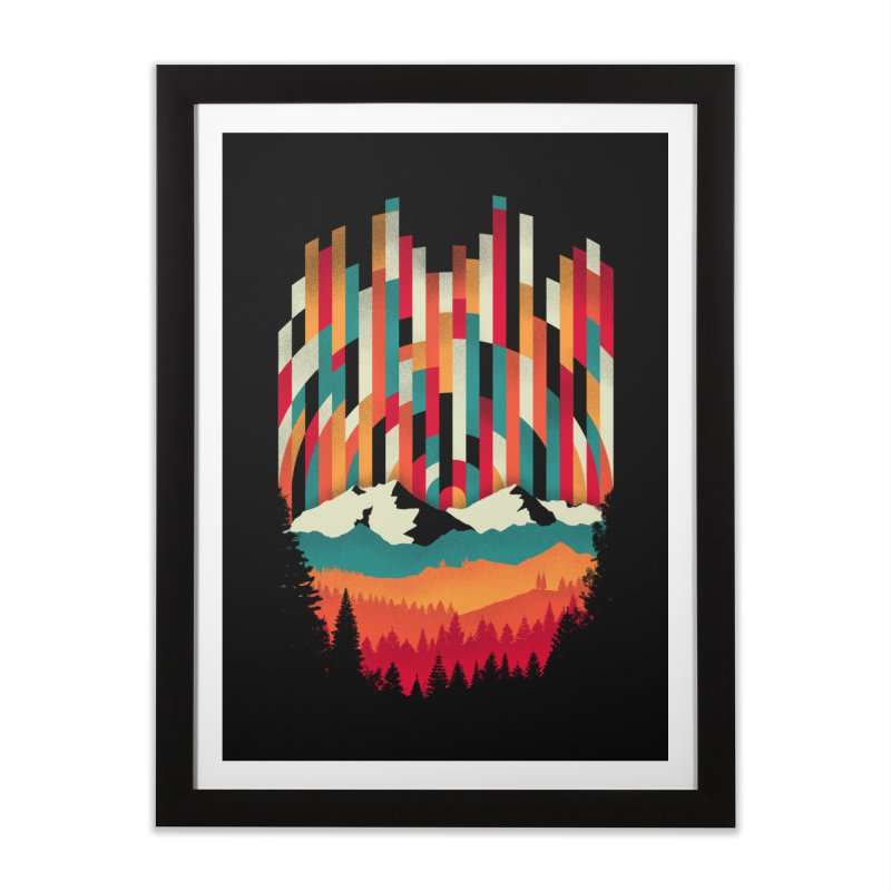 Sunset in Vertical - Multicolor Home Framed Fine Art Print by Dianne Delahunty's Artist Shop