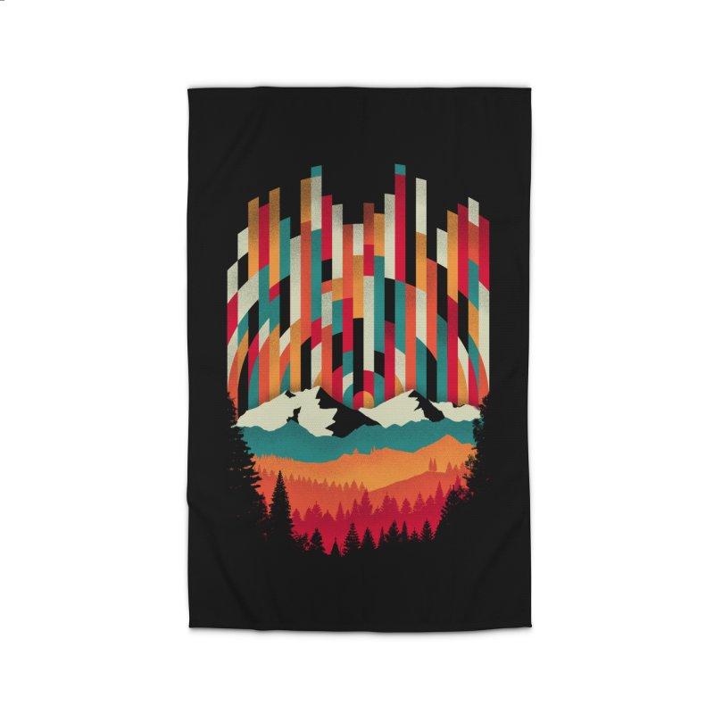 Sunset in Vertical - Multicolor Home Rug by Dianne Delahunty's Artist Shop