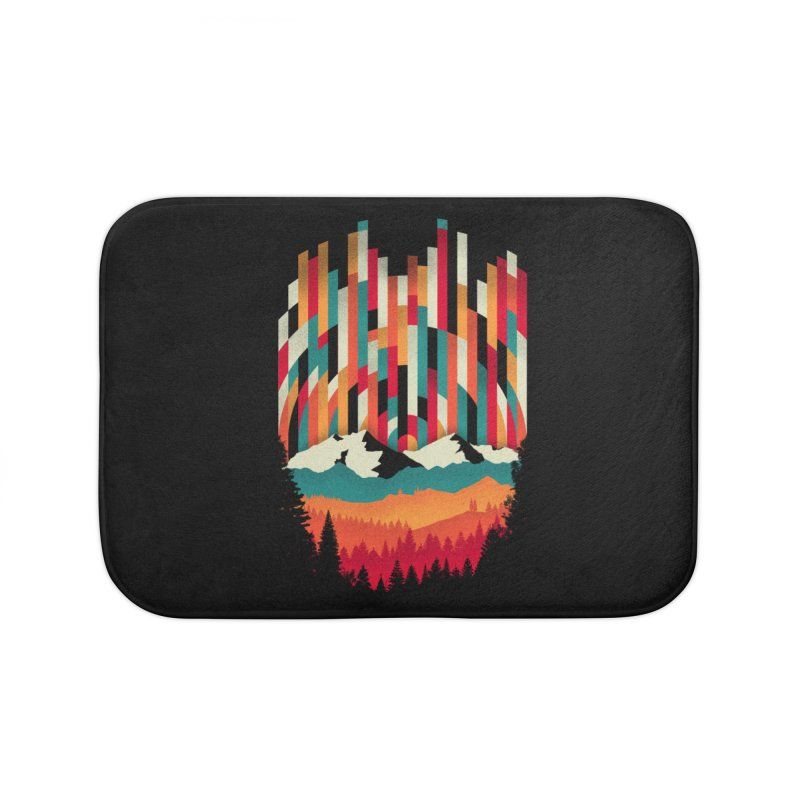 Sunset in Vertical - Multicolor Home Bath Mat by Dianne Delahunty's Artist Shop