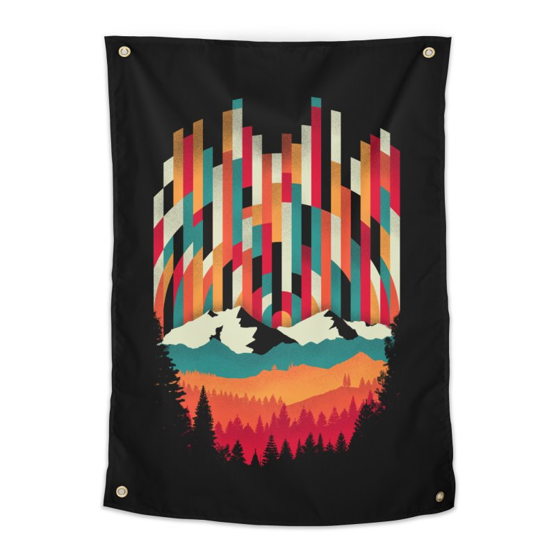 Sunset in Vertical - Multicolor Home Tapestry by Dianne Delahunty's Artist Shop