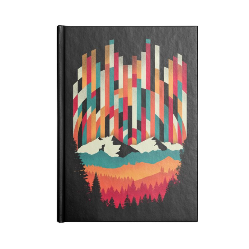 Sunset in Vertical - Multicolor Accessories Lined Journal Notebook by Dianne Delahunty's Artist Shop