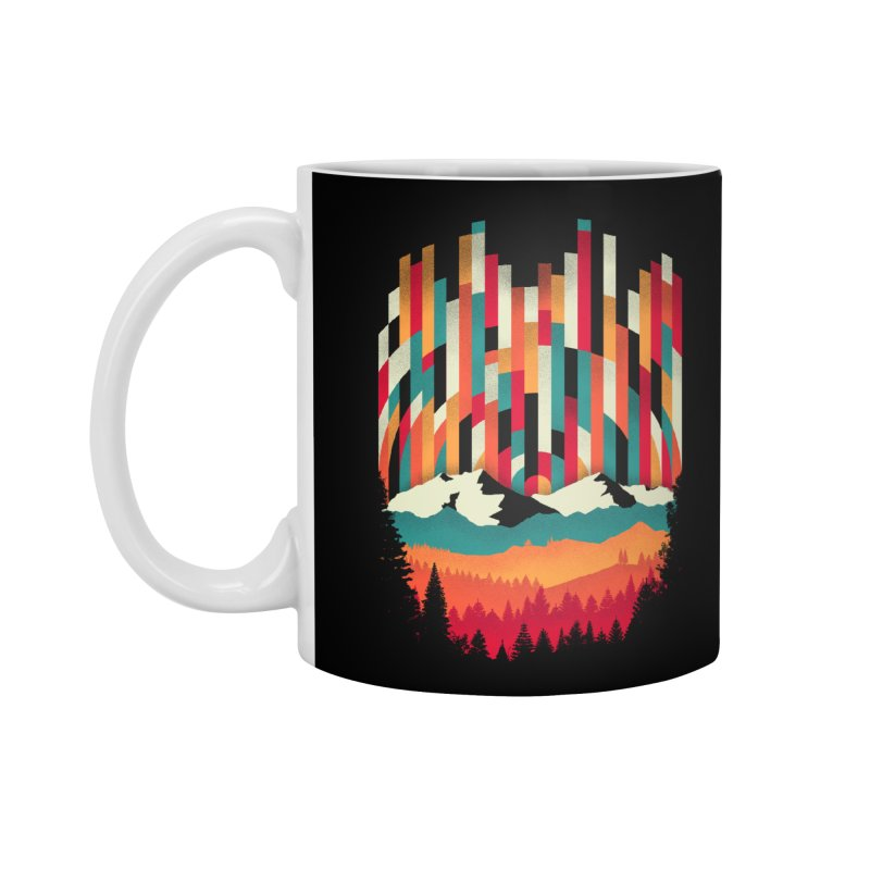 Sunset in Vertical - Multicolor Accessories Standard Mug by Dianne Delahunty's Artist Shop