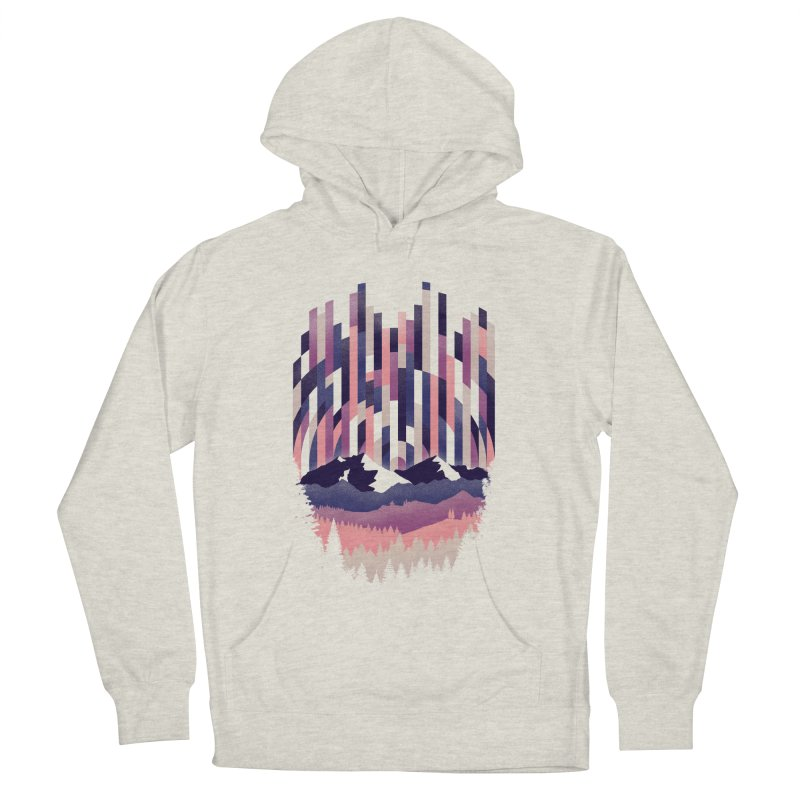 Sunrise in Vertical - Winter Dawn Men's French Terry Pullover Hoody by Dianne Delahunty's Artist Shop