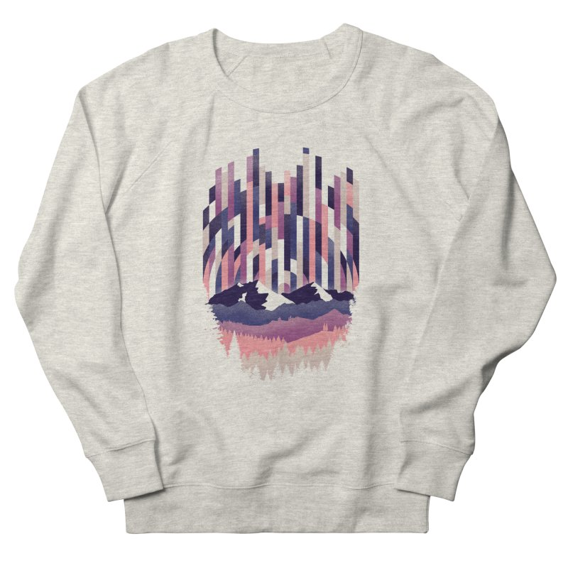 Sunrise in Vertical - Winter Dawn Men's Sweatshirt by Dianne Delahunty's Artist Shop